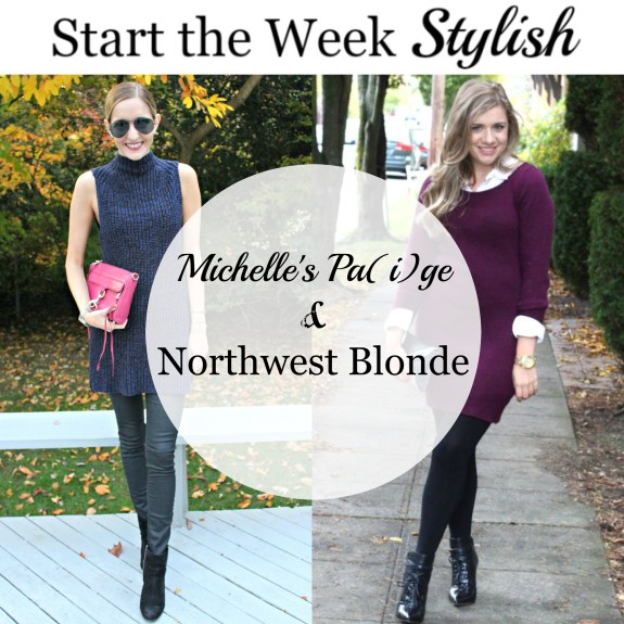 michelle's paige, northwest blond, style, start the week stylish, monday style linkup