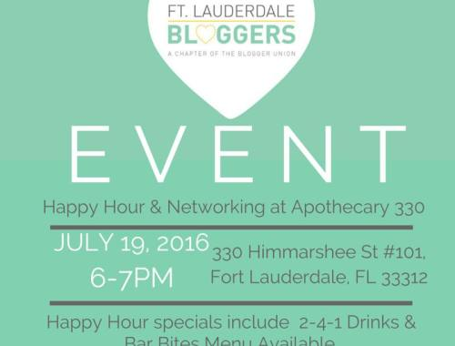 Happy Hour at Apothecary