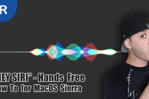 "How To Enable ""HEY SIRI"" Hands Free Voice Command on MacOS SIERRA"