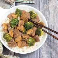 Easy Beef and Broccoli with Mushrooms