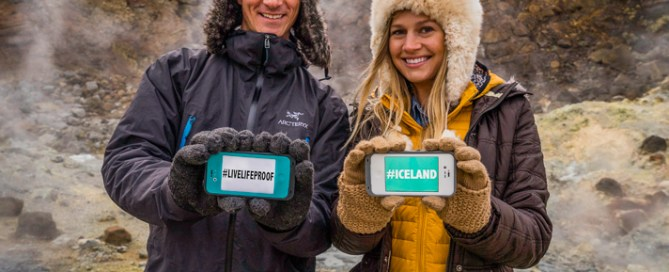 LifeProof in Iceland