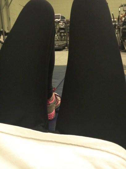 jan 25 gym lying