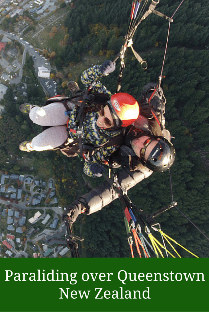 Like A Bird: Paragliding over Queenstown's Lake Wakatipu