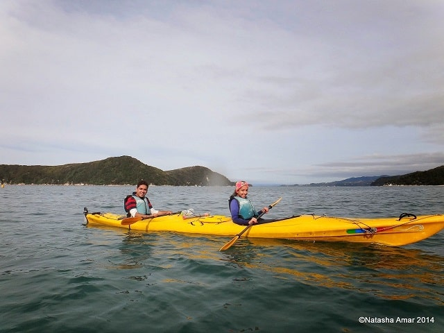 Kayaking in the Abel Tasman National Park