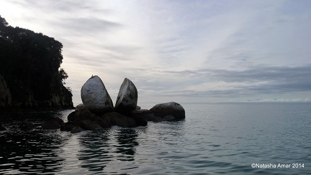 Split Apple Rock- Kayaking in the Abel Tasman National Park