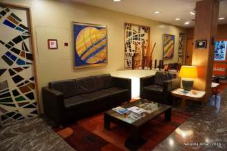 Common area in the lobby