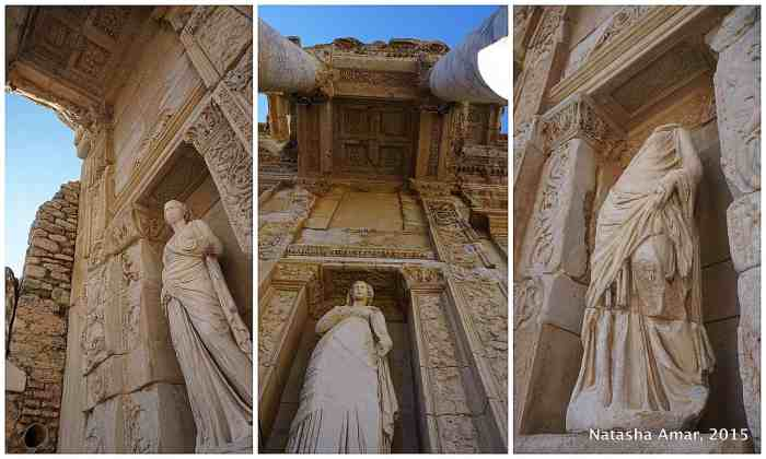 Ancient Ephesus Roman Ruins and Feline Keepers