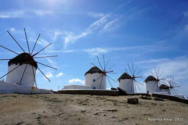 Windmills at Little Venice