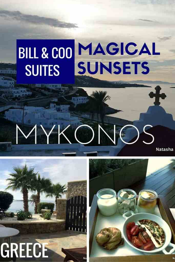 Bill & Coo Suites and Lounge Mykonos: The most magical sunsets and romantic evenings in Mykonos