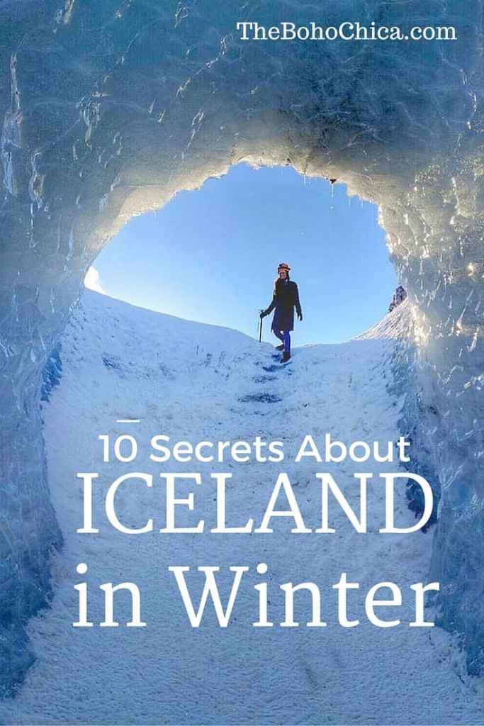 Secrets about Visiting Iceland in Winter