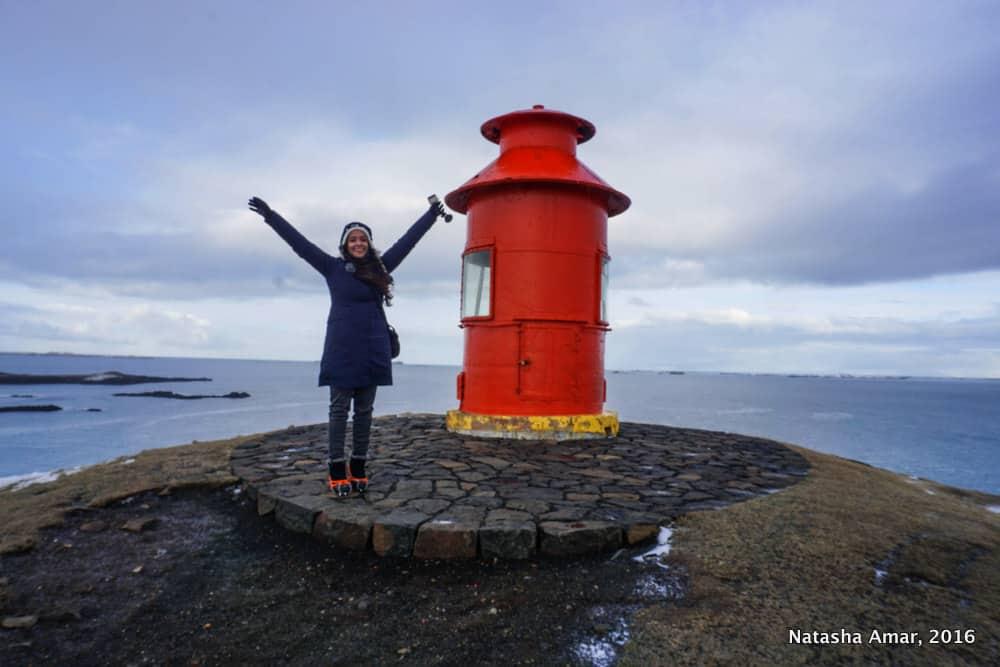 Sugandisey Lighthouse -Snaefellsnes Peninsula