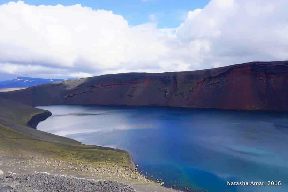 Iceland's Highlands Landmannalaugar Day Tour- Ljótipollur