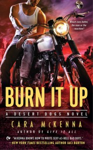 Joint Review – Burn It Up (Desert Dogs #3) by Cara McKenna