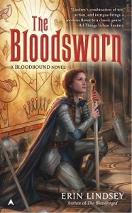 Joint Review: The Bloodsworn (Bloodbound #3) by Erin Lindsey