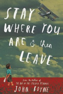 Stay Where You Are Then Leave