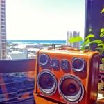 hawaii boomcase boombox vintage-808