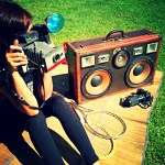Louis Vuitton vintage suitcase boombox boomcase bruno mars luxury awesome rare LV sexy girl picnic camera Polaroid cannon