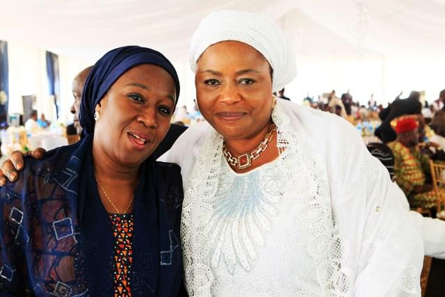 Hon. Hajiya Aisha Abubakar &  Hajia M.H. Dankaka