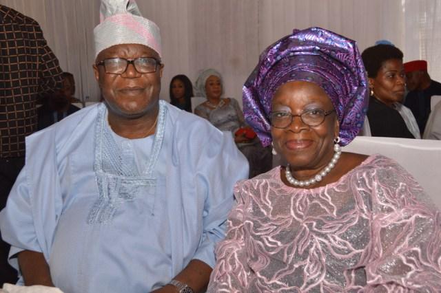 Mr. & Mrs. Ibidapo Obey