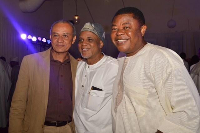 Mr.Charles Hammond, Mr.Biodun Shobanjo, with Prof.Isiekwe Mike