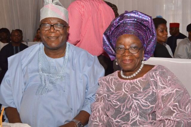 Prof. & Mrs. Oye Ibidapo Obey