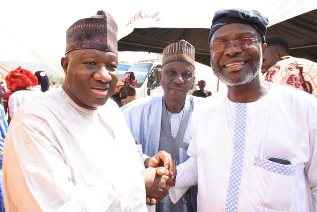 Dele Abegunde & Dr Jimada