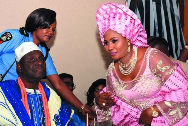 Oba of Lagos, Oba Rilwan Akiolu & Yeye Funke Daniel