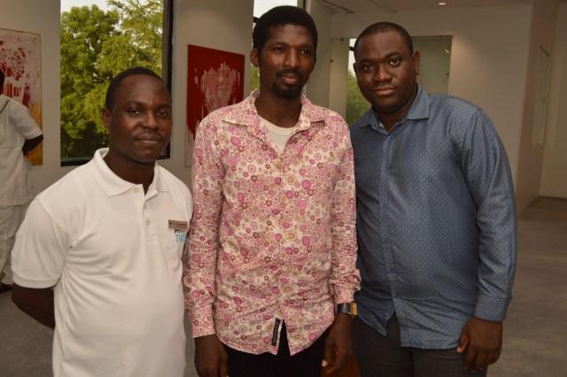 Oluwa Seun Adeoye, Emmanuel Omokorede with Obaloluwa Akintayo