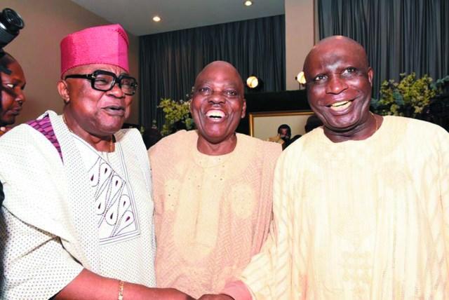 Otunba Alao Akala, Alhaji Rasaq Okoya & Hon. Justice Shola Oguntade