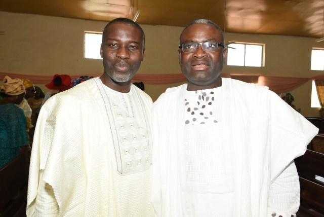Pastor Mike Olayinka & Mr. Oluwole Abegunde