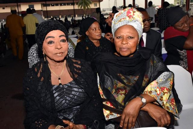 Haija Folawyo with Ms. Omolara Otuyewo