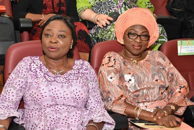 Hon. Nike Akande & Lagos State First Lady, Bolanle Ambode
