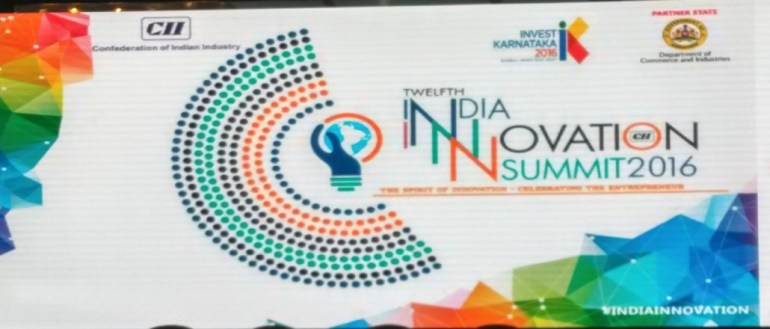 CII India Innovation Summit 2016_theme