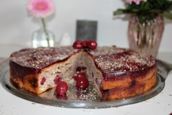 Cherry Nutcake (Mother's day cake)