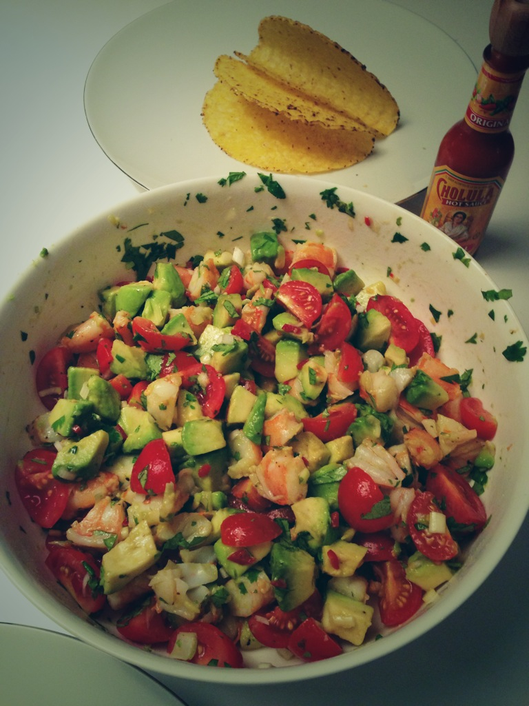smitten kitchen prawn avocado salsa