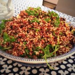 Ottolenghi Red Rice & Quinoa Salad