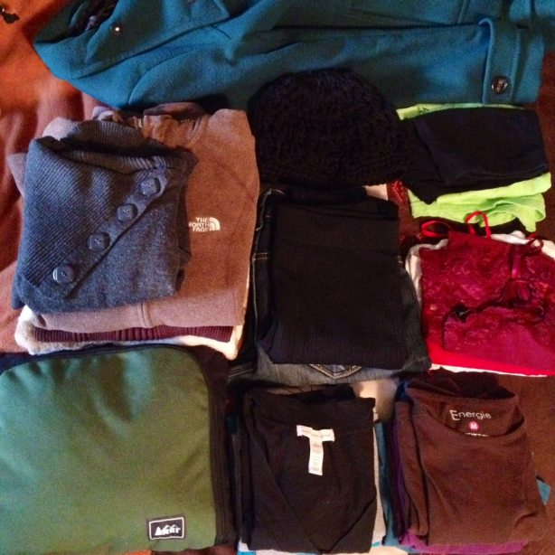 clothes to pack for a trip