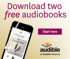 Download two free audio books from audible