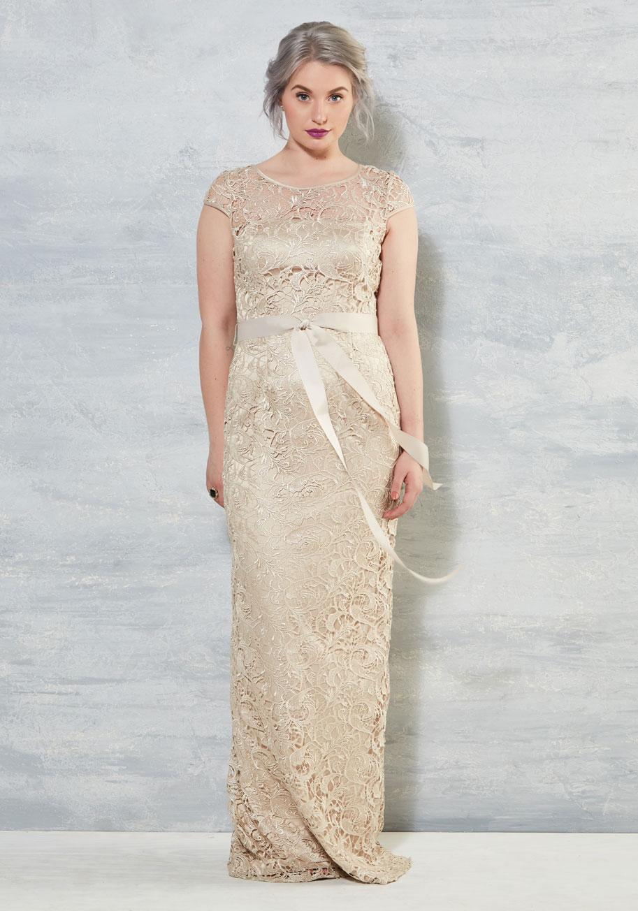 modcloth wedding collection modcloth wedding dresses Upscale Inspiration Dress ModCloth Wedding Dress