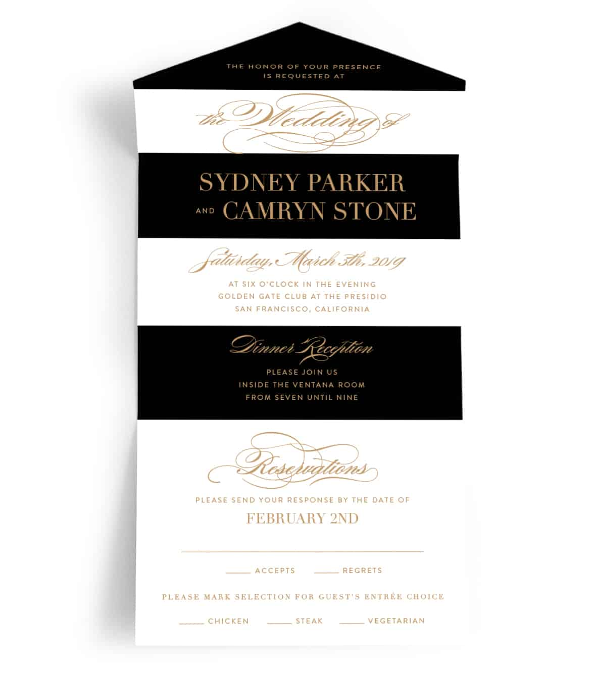 Fullsize Of All In One Wedding Invitations