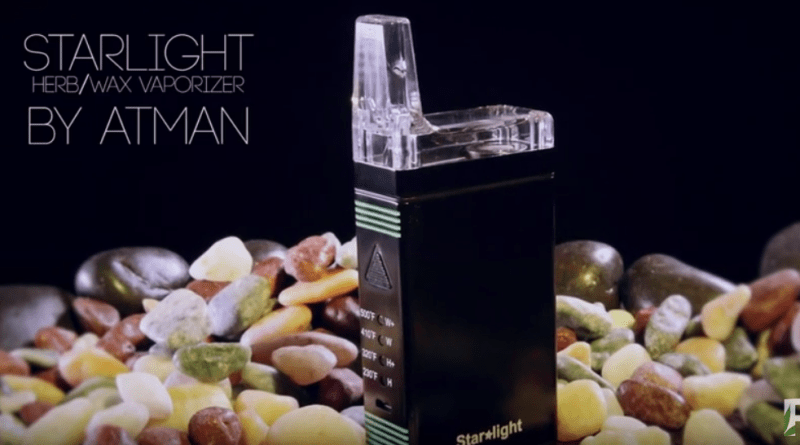 StarLight Dry Herb and Wax Vaporizer from Atman Blazin' Gear Review Ruffhouse