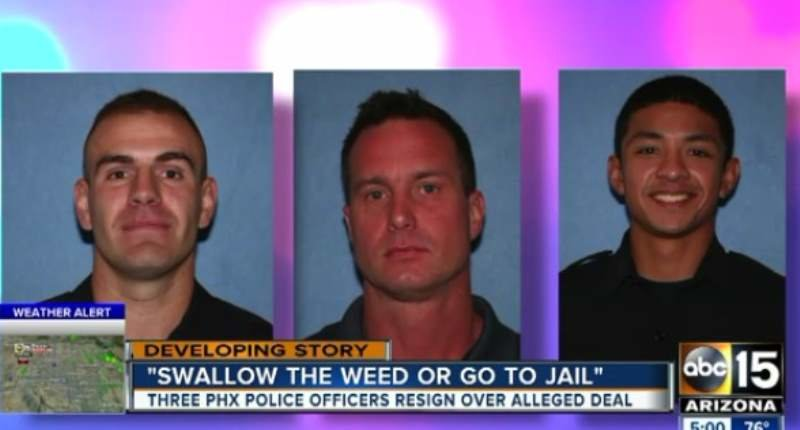 rookie-phoenix-cops-quit-after-forcing-motorist-to-eat-marijuana-during-traffic-stop