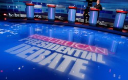 Cheery Gop Republican Debate Empty Stage Rtr Img Who Won Debate Tonight Uk Who Won Debate Tonight Poll 2017