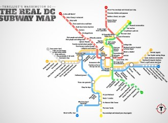 The REAL Metro Map