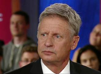 Libertarian Gary Johnson Can't Name One Foreign Leader