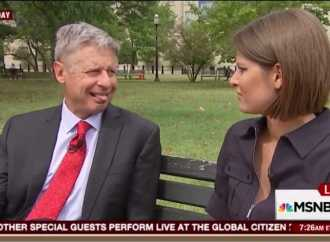 Strange Gary Johnson Interview Video