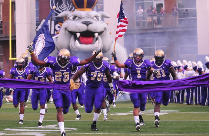Seven JMU Football Players Suspended before Championship Game
