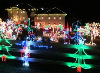 Tacky Christmas Lights around Richmond and Fairfax/Loudoun