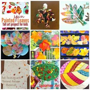 podzimní listí tvoření pro děti
