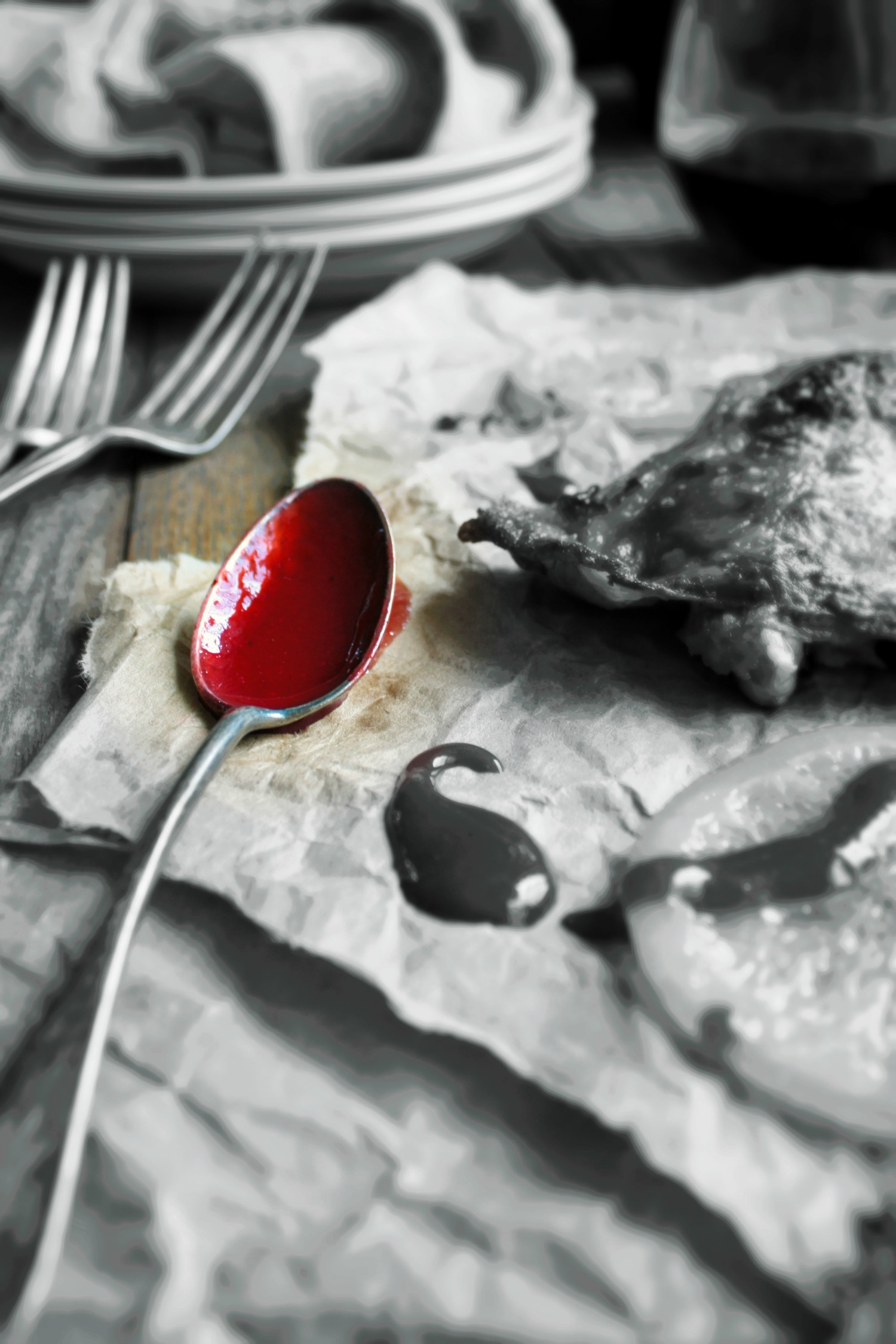 duck with raspberry sauce